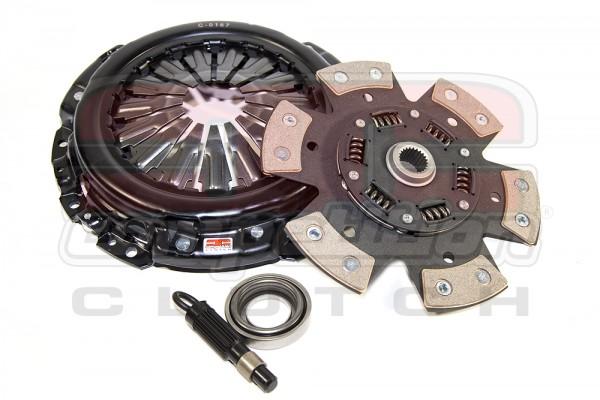 Competition Clutch Kupplung Stage 4 (6-Pad Keramik) für Honda CRX schmaler Dorn Kabel B Serie