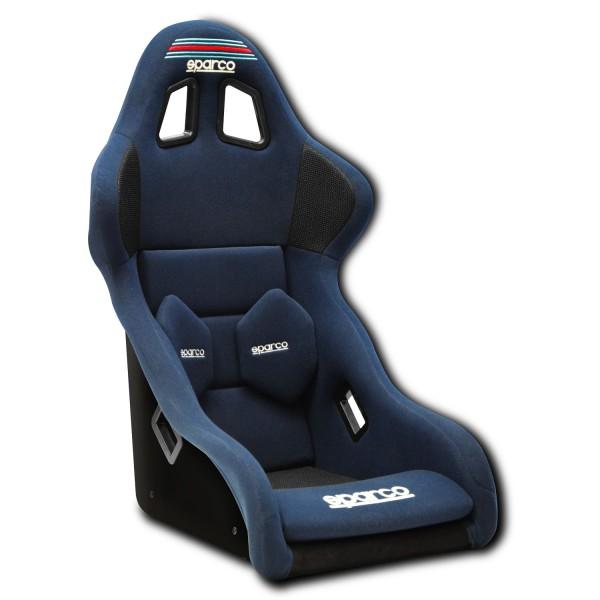 Martini Racing Sparco Pro 2000 QRT Sportsitz, Blue (FIA)