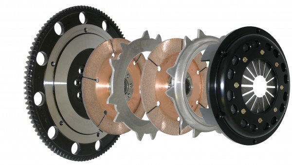 Competition Clutch Dreischeiben Kupplungskit kit 184mm für Honda Accord K20/K24 - 6 Gang